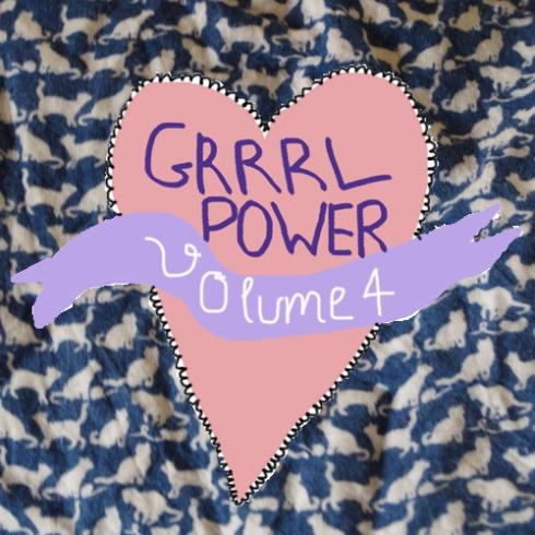 Cover des MixTapes GrrrlPower Volume 4